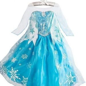 Deluxe Elsa Frozen Costume- NEW W/O TAGS